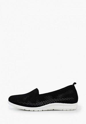 Кроссовки GLAMforever. Цвет: черный