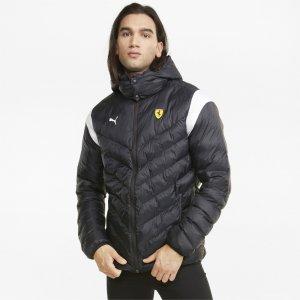 Куртка Scuderia Ferrari Race T7 EcoLite Mens Jacket PUMA. Цвет: черный