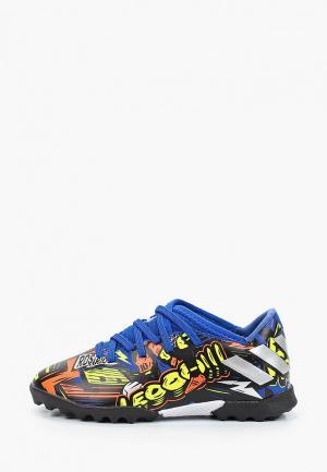 Шиповки adidas NEMEZIZ MESSI 19.3 TF. Цвет: разноцветный