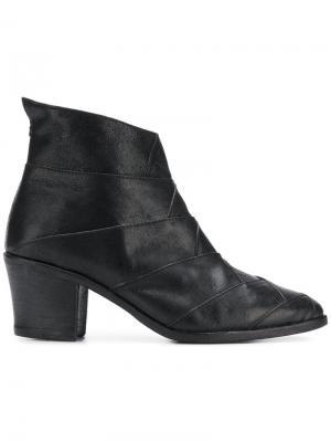 Ботинки Milu на массивном каблуке Fiorentini + Baker. Цвет: черный