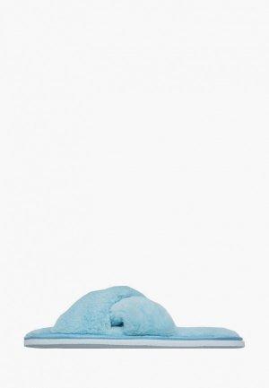 Тапочки Amaro Home. Цвет: голубой