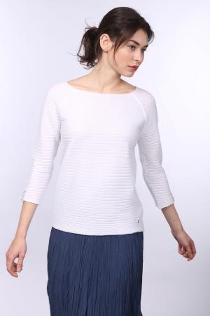 Пуловер Monari. Цвет: белый