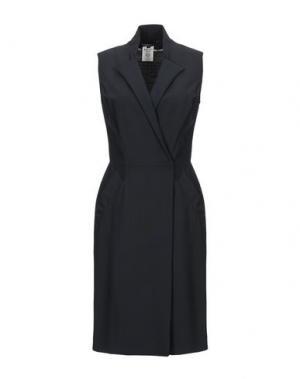 Платье до колена AQUASCUTUM. Цвет: черный