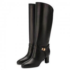 Кожаные сапоги Eden Givenchy. Цвет: чёрный