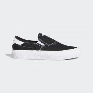 Кроссовки-слипоны 3MC Originals adidas. Цвет: черный