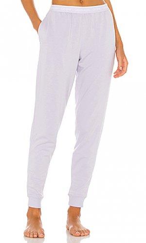 Джоггеры ck one Calvin Klein Underwear. Цвет: бледно-лиловый