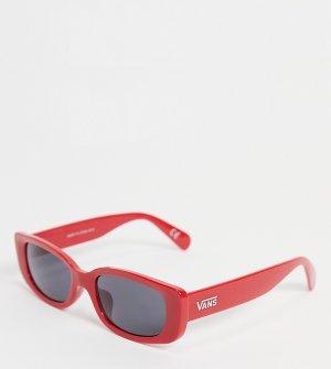 Солнцезащитные очки с красной оправой -Красный Vans