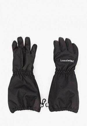 Перчатки Lassie Zea. Цвет: черный