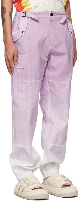Purple Tie & Dye Cargo Pants Faith Connexion. Цвет: tye&dyeonio