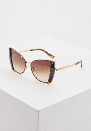 Очки солнцезащитные Dolce&Gabbana DG2. Цвет: золотой