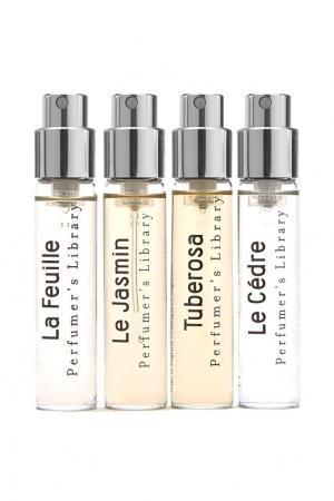 Набор пробников парфюмированной воды Perfumers Library Discovery Pack, 4 x 9 ml Miller Harris. Цвет: без цвета