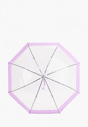 Зонт-трость Zemsa. Цвет: прозрачный