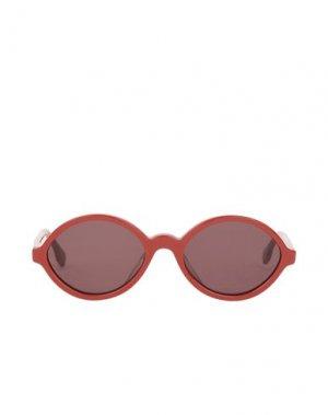 Солнечные очки LE SPECS. Цвет: красный
