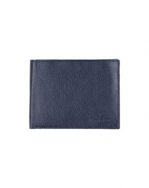 Бумажник BROOKSFIELD. Цвет: темно-синий