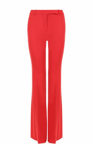 Шерстяные брюки Alexander McQueen. Цвет: красный