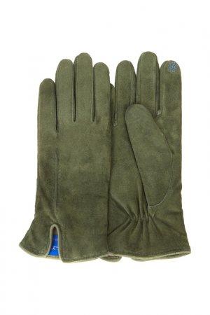 Перчатки Dali Exclusive. Цвет: зеленый