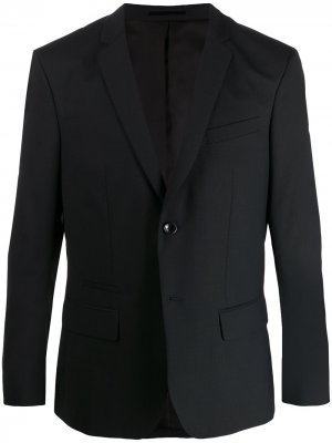 Однобортный пиджак узкого кроя Filippa K. Цвет: синий