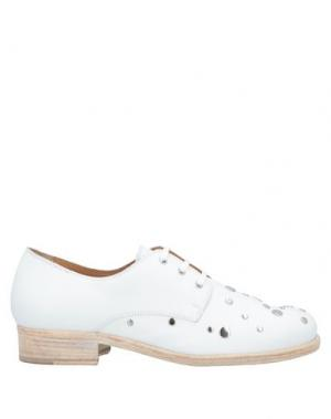 Обувь на шнурках ALBERTO FERMANI. Цвет: белый