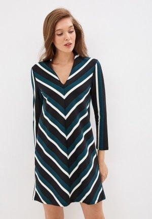 Платье Mango - VELDU6. Цвет: бирюзовый