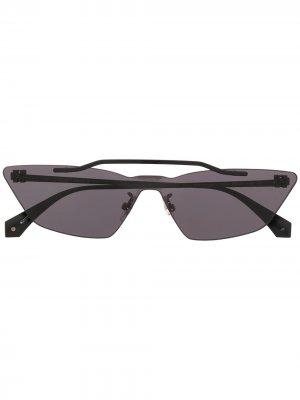 Солнцезащитные очки Metal Mask Off-White. Цвет: черный