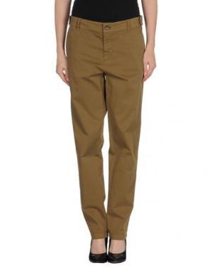 Повседневные брюки BLUE DEEP. Цвет: зеленый-милитари