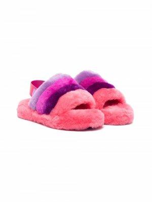 Слиперы Fluff Yeah UGG Kids. Цвет: розовый