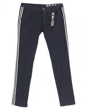 Повседневные брюки FRED MELLO. Цвет: синий
