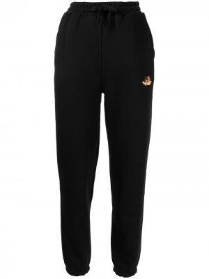 Спортивные брюки Icon Angels Fiorucci. Цвет: черный