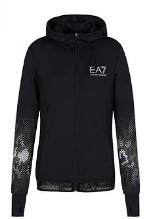 Джемпер EA7. Цвет: черный