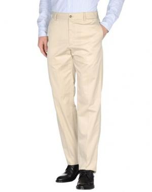 Классические брюки PAUL & SHARK. Цвет: бежевый