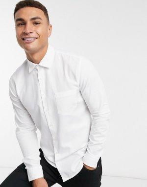 Рубашка с длинными рукавами -Белый BOSS