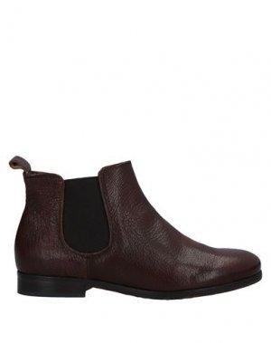 Полусапоги и высокие ботинки JOSEPHINE. Цвет: какао