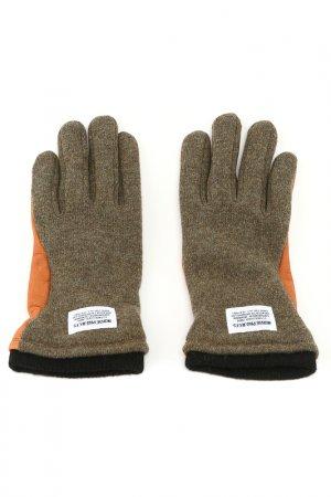 Перчатки NORSE PROJECTS. Цвет: оранжевый