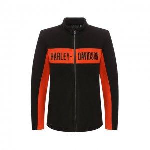 Куртка Genuine Motorclothes Harley-Davidson. Цвет: чёрный