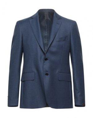 Пиджак MP MASSIMO PIOMBO. Цвет: синий