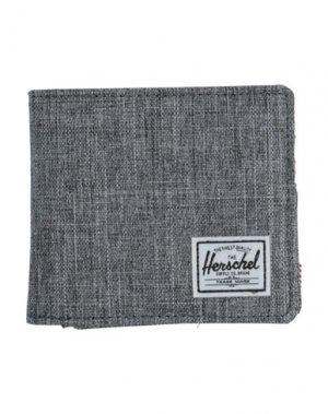 Бумажник HERSCHEL SUPPLY CO.. Цвет: свинцово-серый