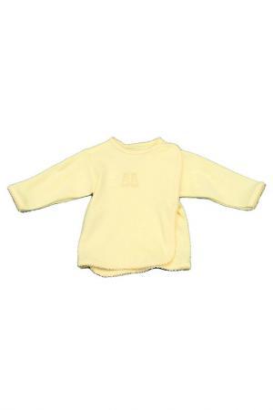 Набор распашонок EWA. Цвет: желтый