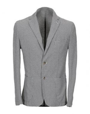 Пиджак MARTIN ZELO. Цвет: серый