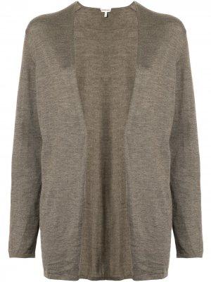 Кардиган без застежки pre-owned Hermès. Цвет: коричневый