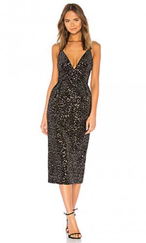 Платье JILL STUART. Цвет: черный