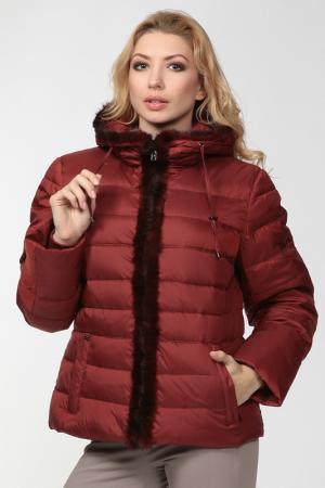 Куртка CITY. Цвет: коричневый