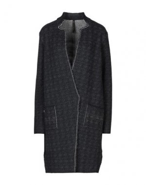 Легкое пальто MANILA GRACE. Цвет: темно-синий