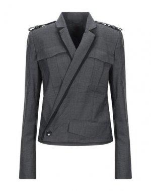 Пиджак A.F.VANDEVORST. Цвет: свинцово-серый