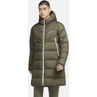 Мужская парка Sportswear Down-Fill Windrunner Shield - Зеленый Nike