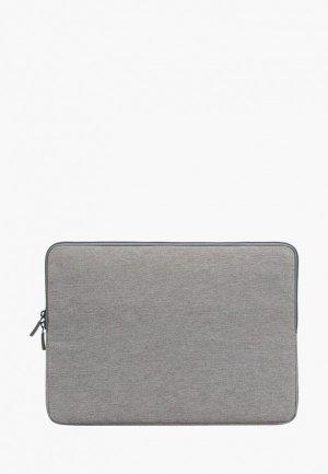 Чехол для ноутбука Rivacase. Цвет: серый