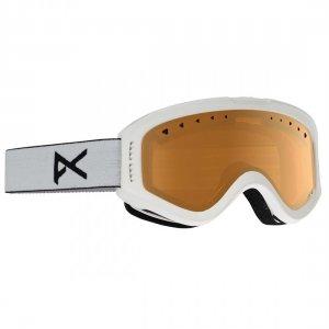 Детская сноубордическая маска Tracker Anon. Цвет: белый