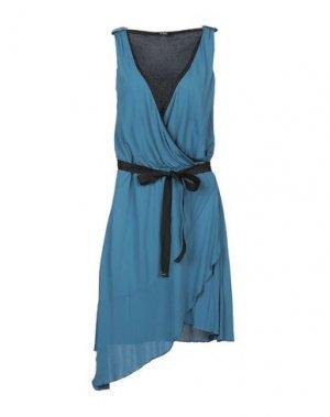 Короткое платье C'N'C' COSTUME NATIONAL. Цвет: пастельно-синий