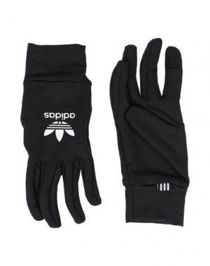 Перчатки ADIDAS ORIGINALS. Цвет: черный
