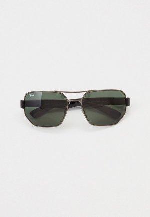 Очки солнцезащитные Ray-Ban® RB3672 004/71. Цвет: черный
