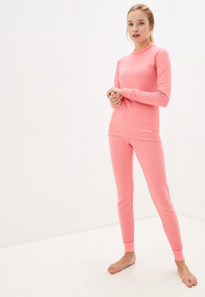 Термобелье Montero Wool Protection. Цвет: розовый